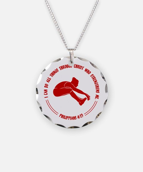 LONG JUMP, PHIL.413 Necklace Circle Charm