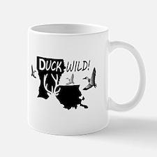 Duck Wild Louisiana Mugs