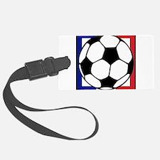futbol francaise Luggage Tag
