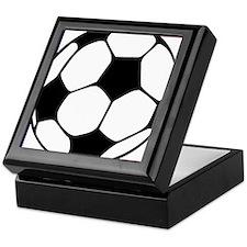 futbol francaise Keepsake Box