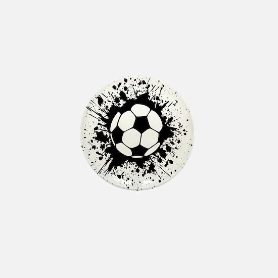 soccer splats Mini Button