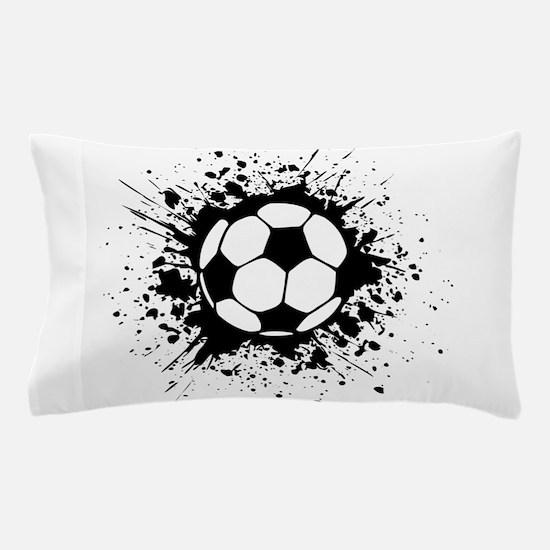soccer splats Pillow Case