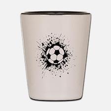 soccer splats Shot Glass