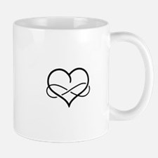 Infinity Heart Mugs
