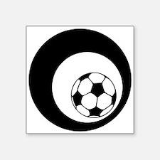 soccer circles Sticker