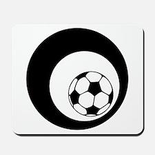 soccer circles Mousepad