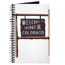 welcome to colorful colorado signage Journal