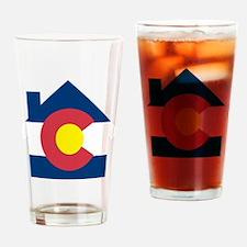 colorado house Drinking Glass