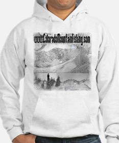 Colorado Mountain Fishing Log Hoodie