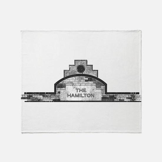 the hamilton Throw Blanket