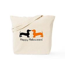 Dachshund Halloween Tote Bag