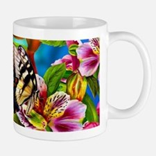 Beautiful Butterflies And Flowers Mugs