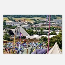 GLASTONBURY FESTIVAL Postcards (Package of 8)