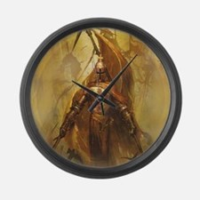 Templar Large Wall Clock