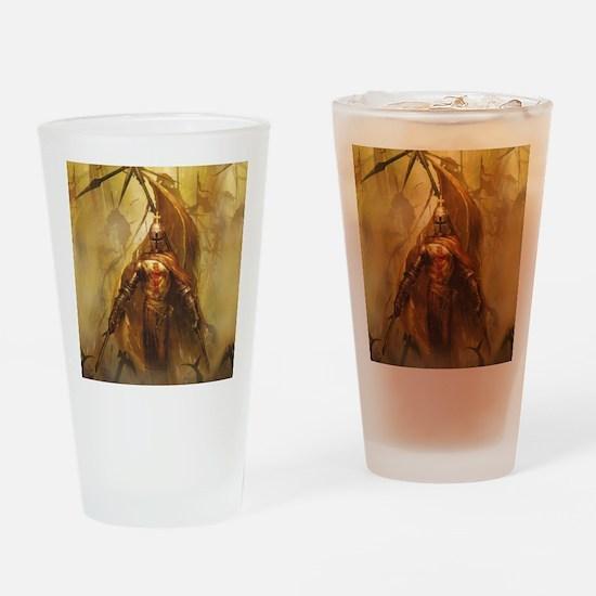 Templar Drinking Glass