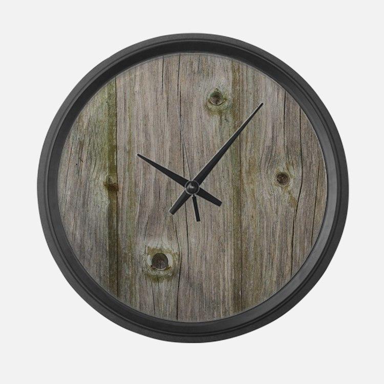 Cute Pattern Large Wall Clock