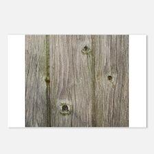 old grey wood Postcards (Package of 8)