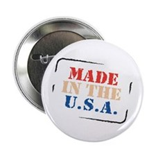 "Made in the USA 2.25"" Button (100 pack)"