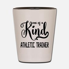 One of a Kind Athletic Trainer Shot Glass