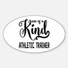 One of a Kind Athletic Trainer Sticker (Oval)