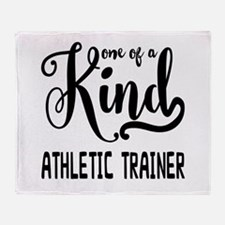 One of a Kind Athletic Trainer Throw Blanket