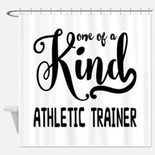 One of a Kind Athletic Trainer Shower Curtain