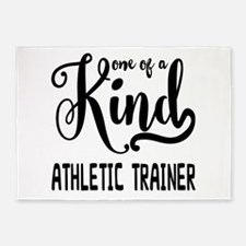 One of a Kind Athletic Trainer 5'x7'Area Rug