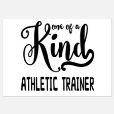 One of a Kind Athletic Trainer Invitations