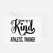 One of a Kind Athletic Trainer Greeting Card