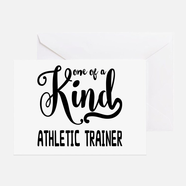 Athletic Trainer Greeting Cards, Thank You Cards, and
