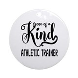 Athletic trainer Round Ornaments