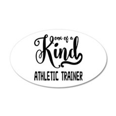 One of a Kind Athletic Train Wall Decal