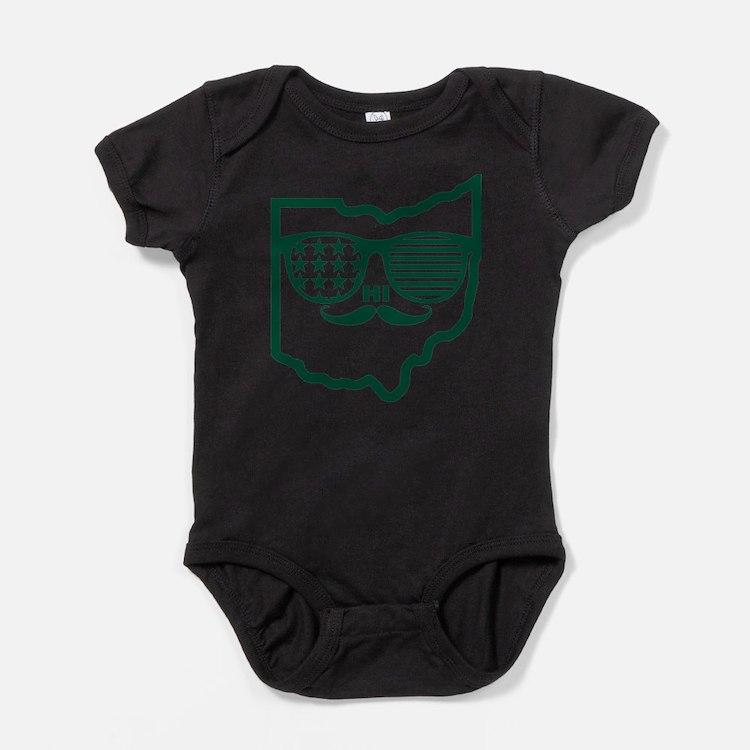 Cute Ohio bobcats Baby Bodysuit