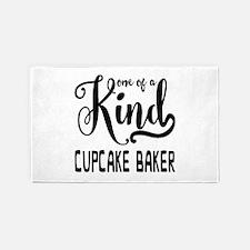 One of a Kind Cupcake Baker Area Rug