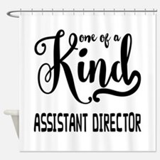 One of a Kind Assistant Director Shower Curtain