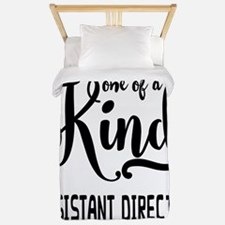 One of a Kind Assistant Director Twin Duvet