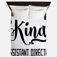 One of a Kind Assistant Director Queen Duvet