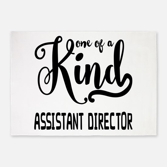 One of a Kind Assistant Director 5'x7'Area Rug