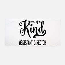 One of a Kind Assistant Director Beach Towel