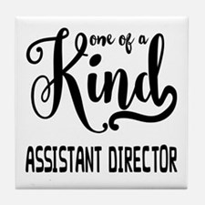One of a Kind Assistant Director Tile Coaster