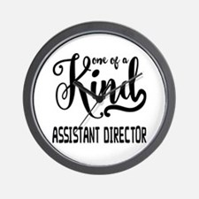 One of a Kind Assistant Director Wall Clock