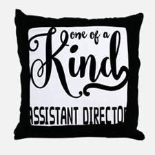 One of a Kind Assistant Director Throw Pillow