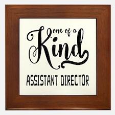 One of a Kind Assistant Director Framed Tile