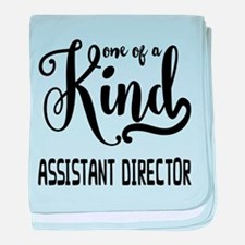 One of a Kind Assistant Director baby blanket