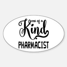 One of a Kind Pharmacist Decal