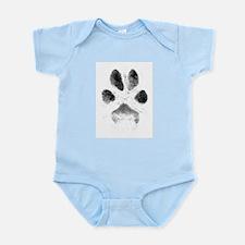 Zoe Pawprint Infant Bodysuit