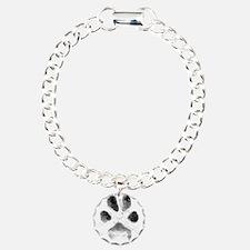 Zoe Pawprint White Bracelet