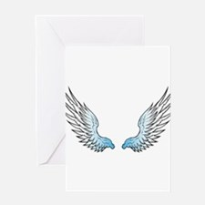 Angel wings x Greeting Cards