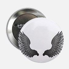 """Angel wings x 2.25"""" Button (10 pack)"""
