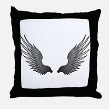 Angel wings x Throw Pillow
